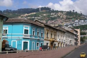 malownicze centrum Quito jest wpisane na listę UNESCO